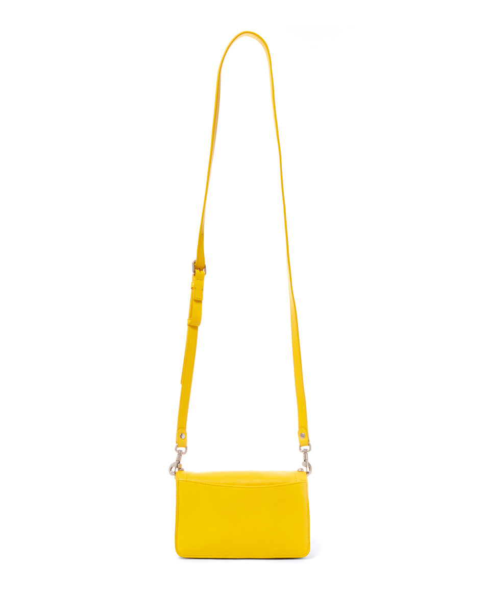 3eca4a67e9f4e Marc By Marc Jacobs Yellow Espionage 18 Cross Body Bag in Yellow - Lyst