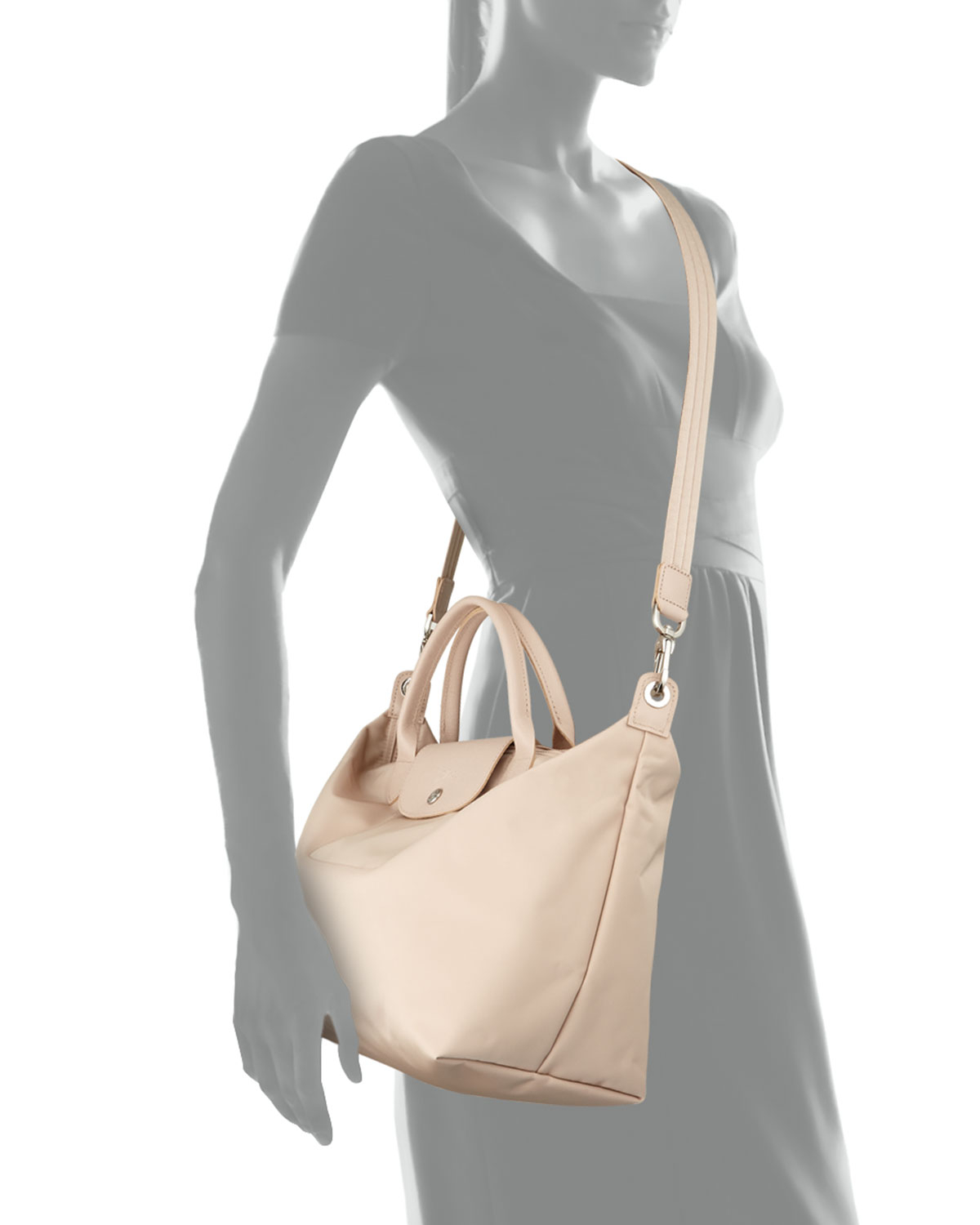 Longchamp Le Pliage Neo Medium Handbag with Strap h1plZw