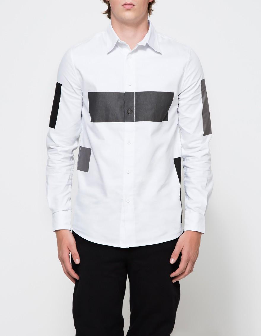 Lyst Han Kjobenhavn Classic Shirt In White For Men