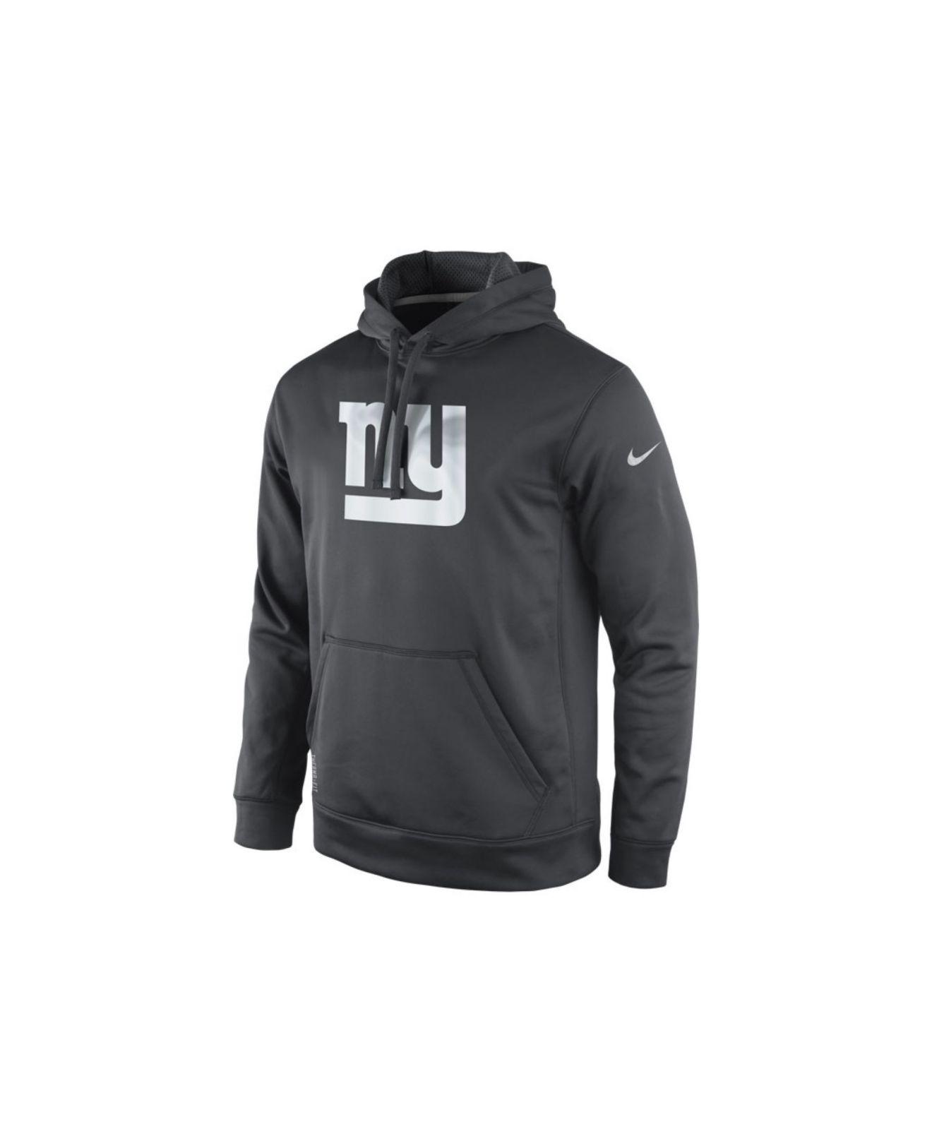 ff4b5f8bbd3 Nike Mens New York Giants Platinum Ko Hoodie in Gray for Men - Lyst