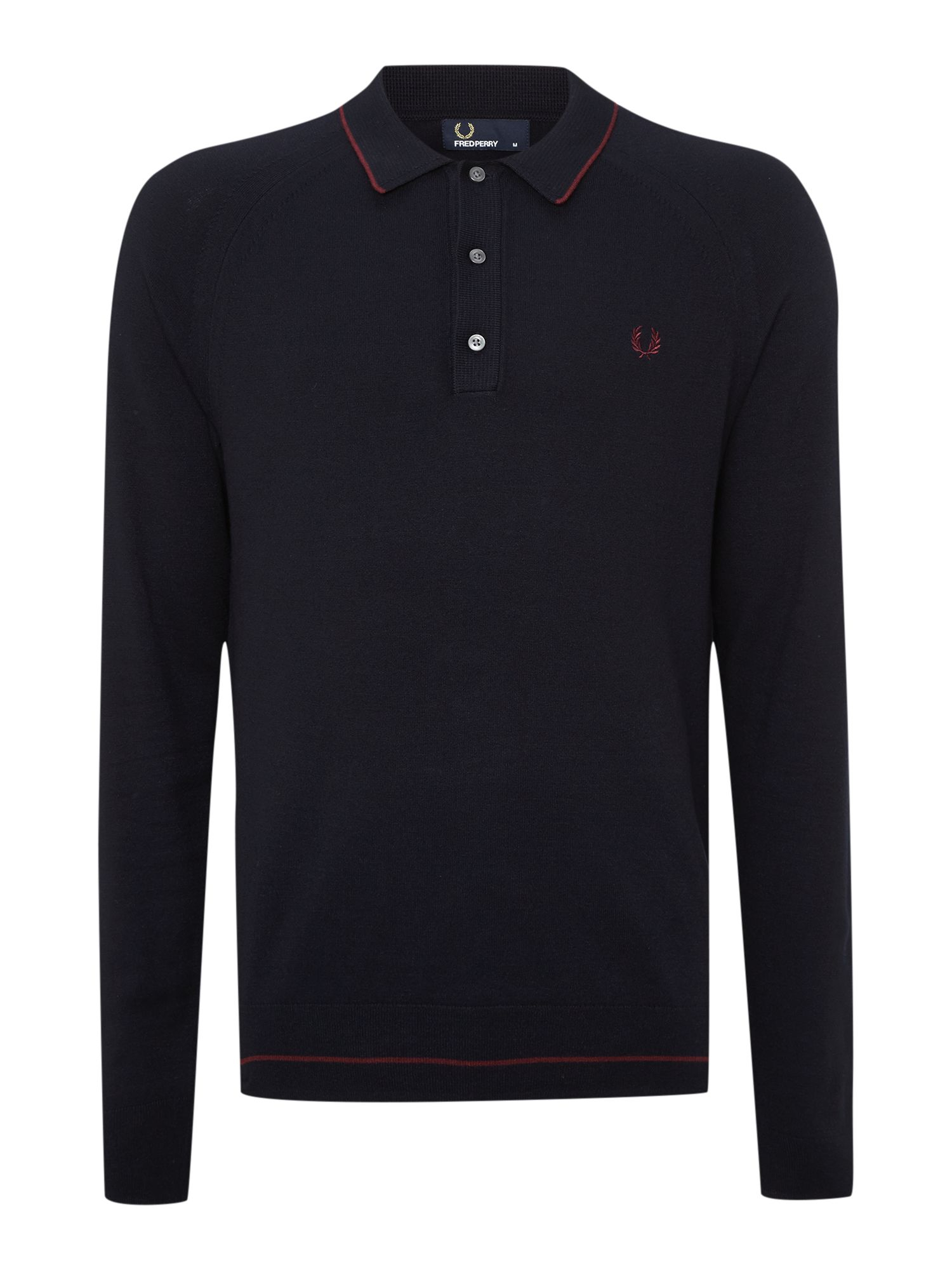 Fred perry polo long sleeve Fred perry mens shirts sale