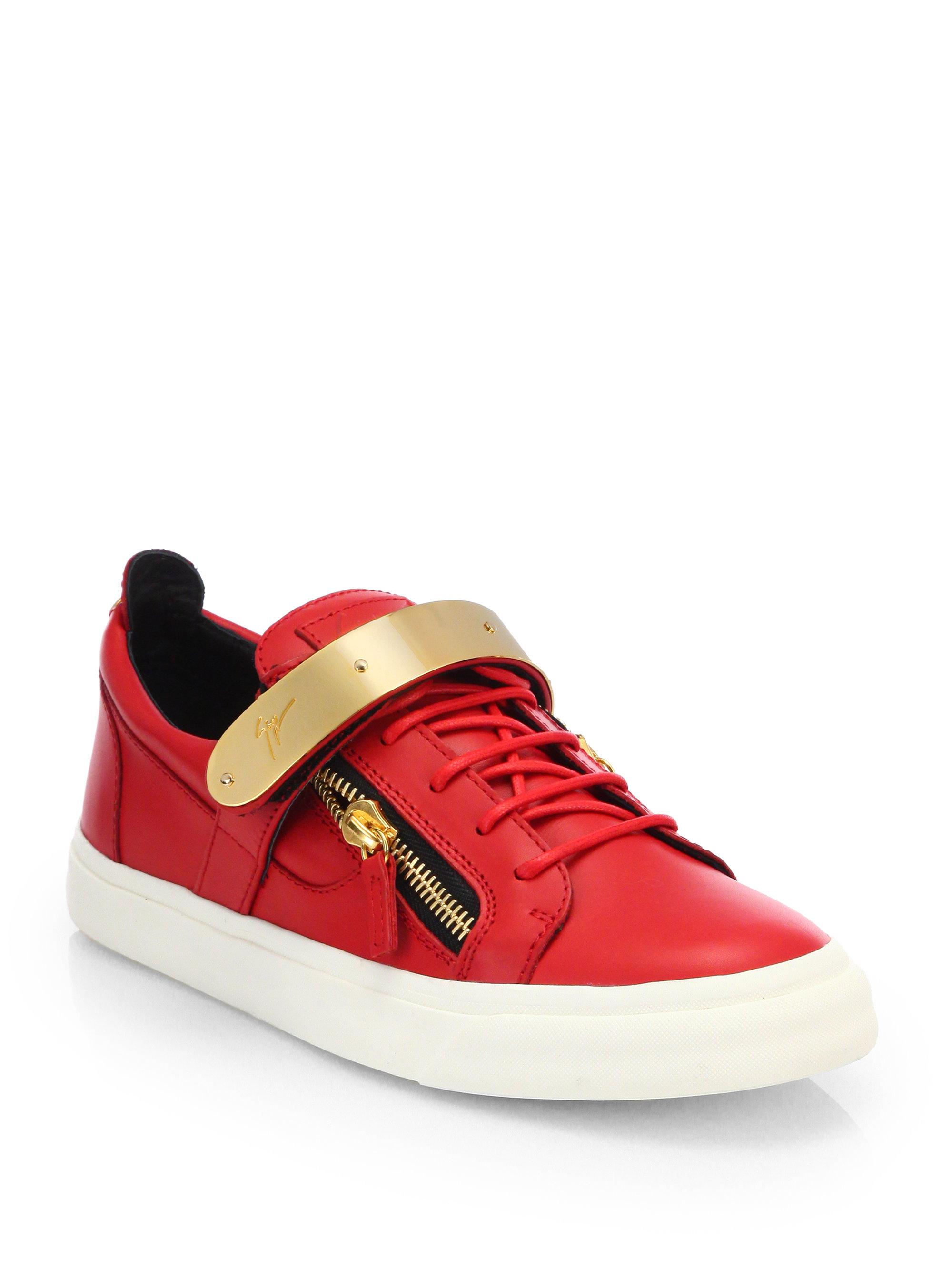 Giuseppe Zanotti Red Shoes