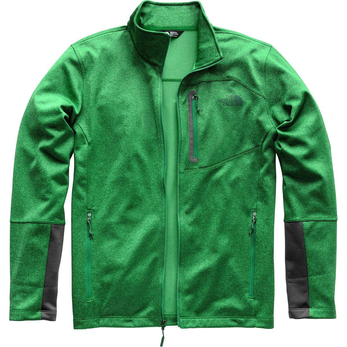 Lyst - The North Face Canyonlands Fleece Jacket in Green for Men b9c49a427