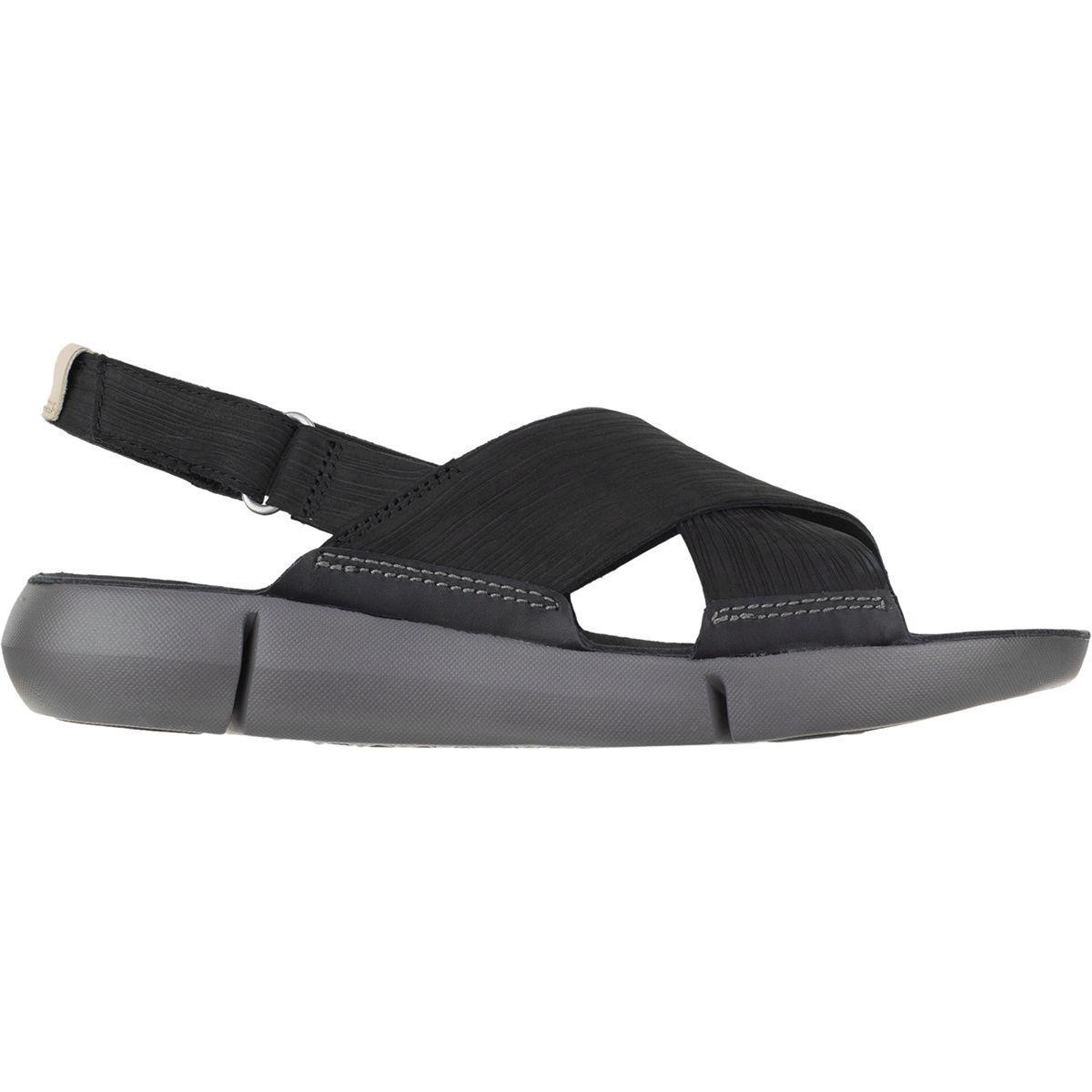 Clarks TRI CHLOE - Sandals - black FucbWKjB4K