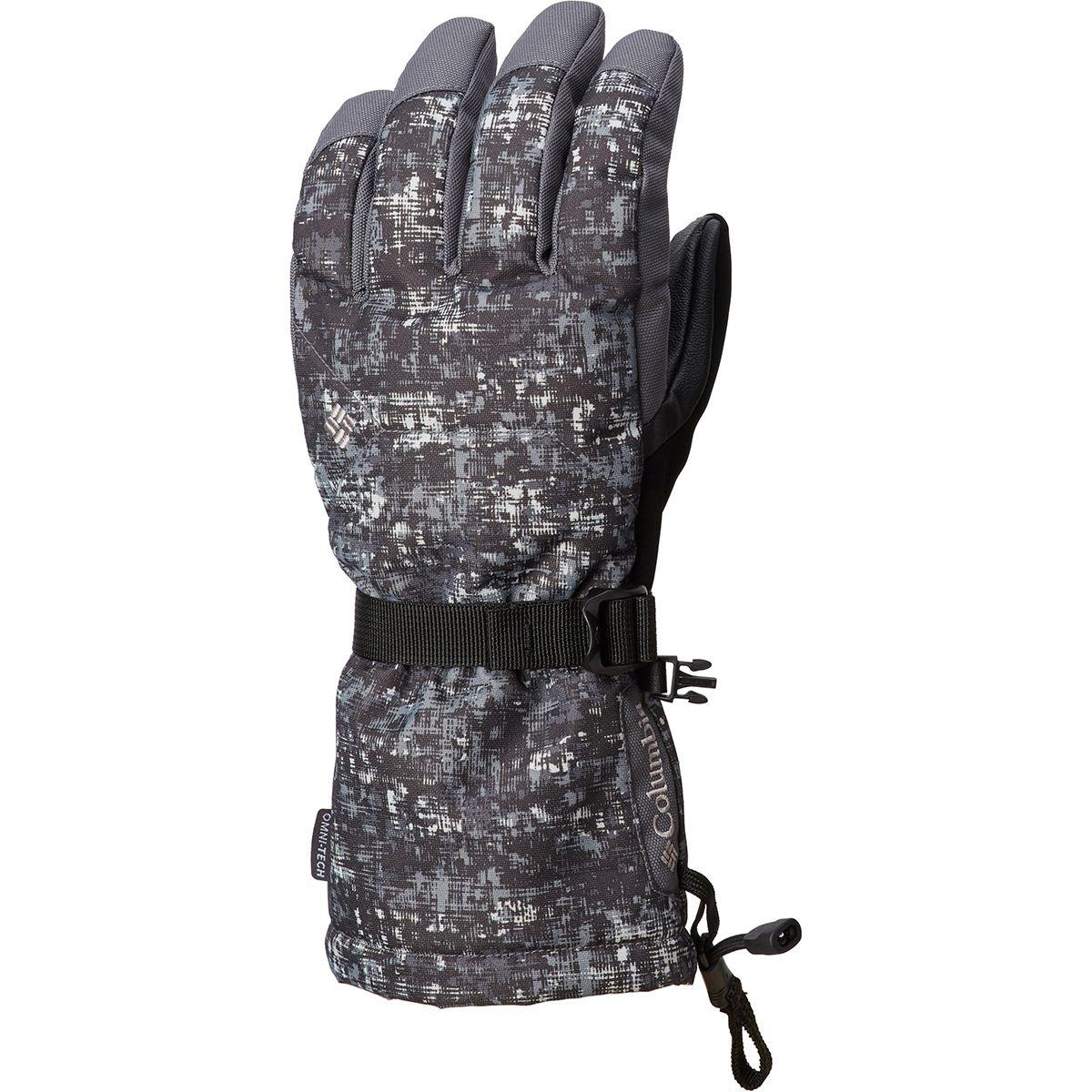 Lyst - Columbia Whirlibird Glove in Black for Men 6529d84414