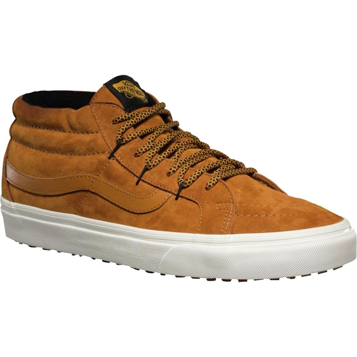 a54e9966f2 Lyst - Vans Sk8-mid Reissue Ghillie Mte Shoe in Brown for Men