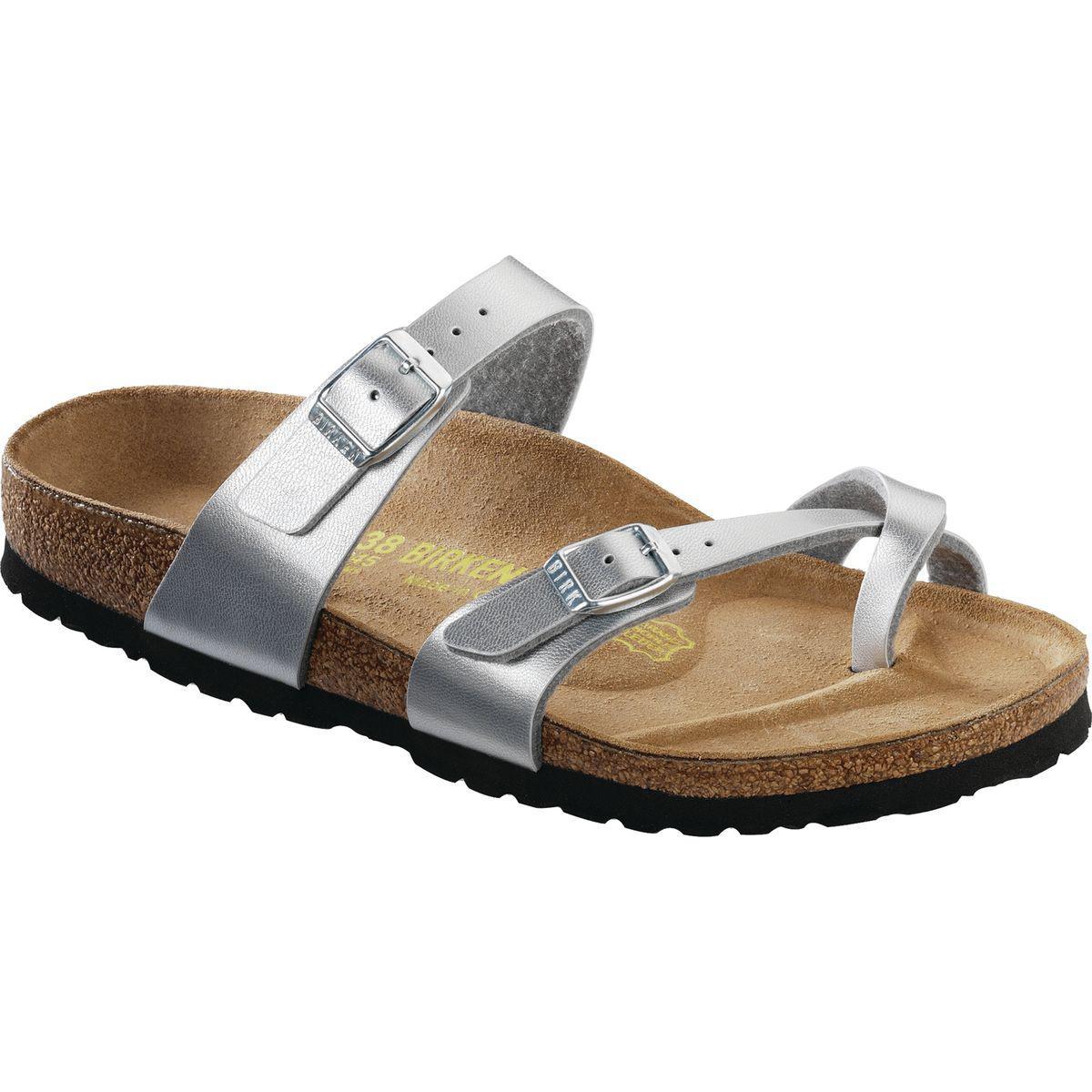 taupe Birkenstock Papillio shoe MAYARI PULL UP MRUJ4i