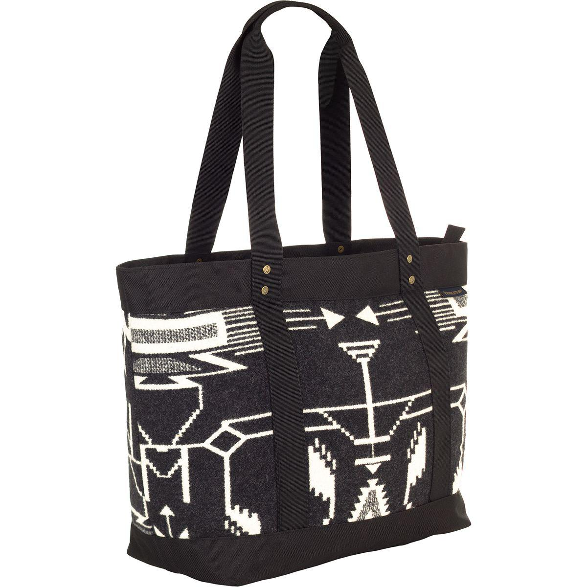 3cdac697d Lyst - Pendleton Large Zip Canvas Tote in Black
