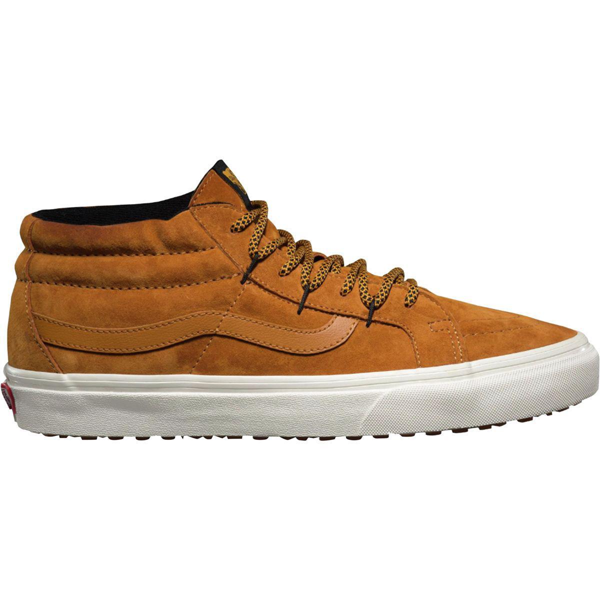 3f77443d64 Lyst - Vans Sk8-mid Reissue Ghillie Mte Shoe in Brown for Men
