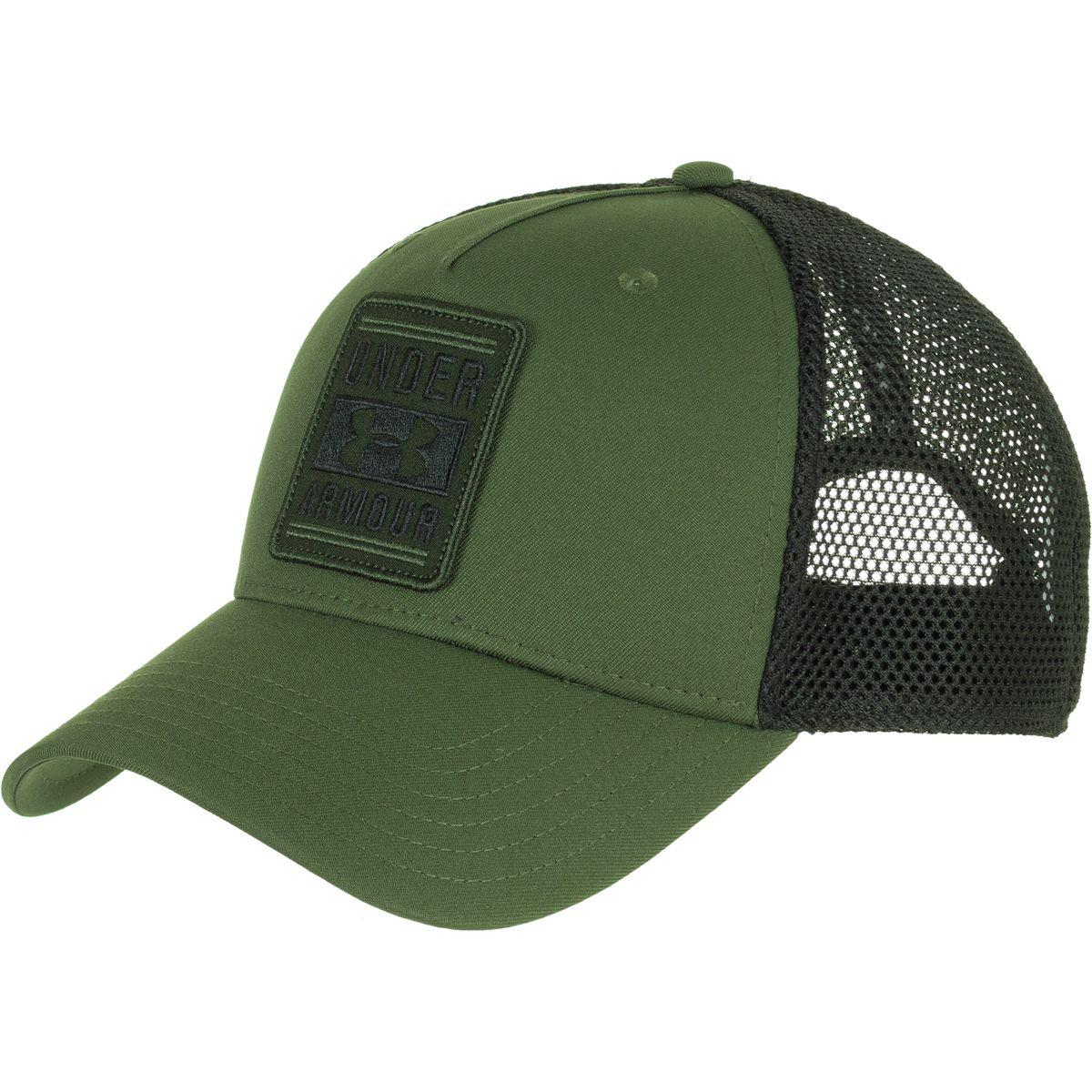 3450a18ca323a Under Armour Outdoor Performance Trucker Cap in Green for Men - Lyst