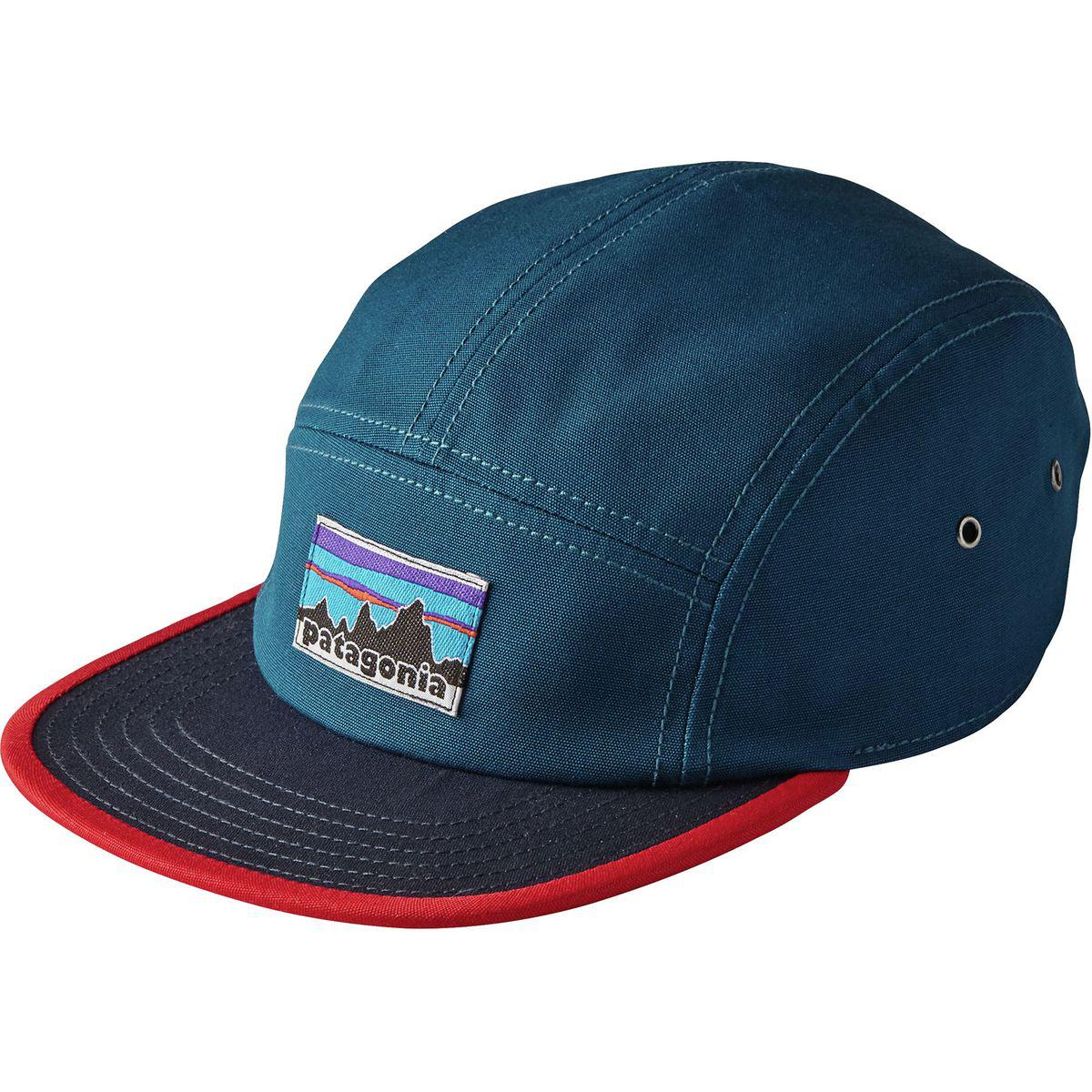 c4fe8b6d Patagonia Retro Fitz Roy Label Tradesmith 5-panel Cap in Blue for ...