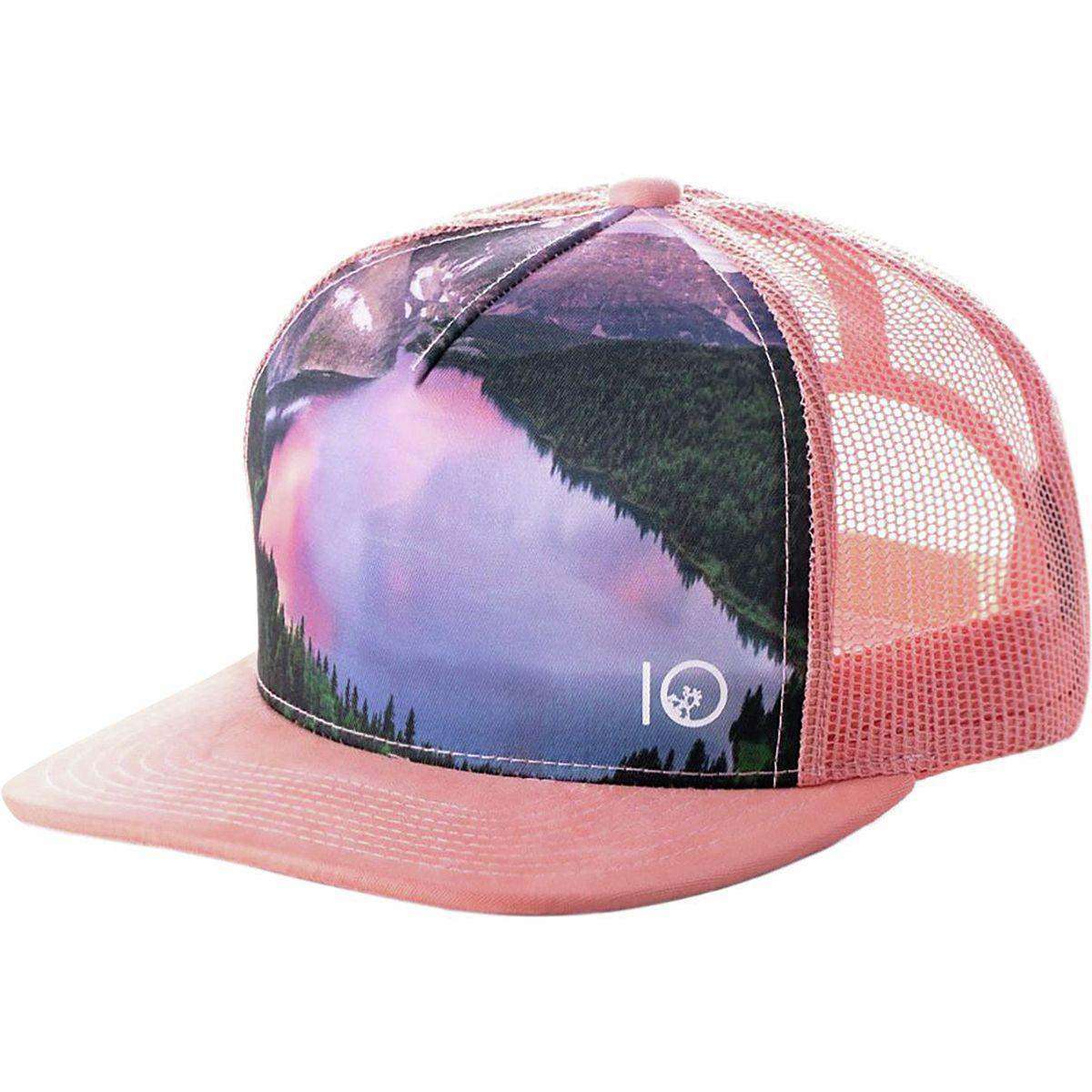 finest selection 14139 9b10e Tentree Outlook Trucker Hat in Pink - Lyst