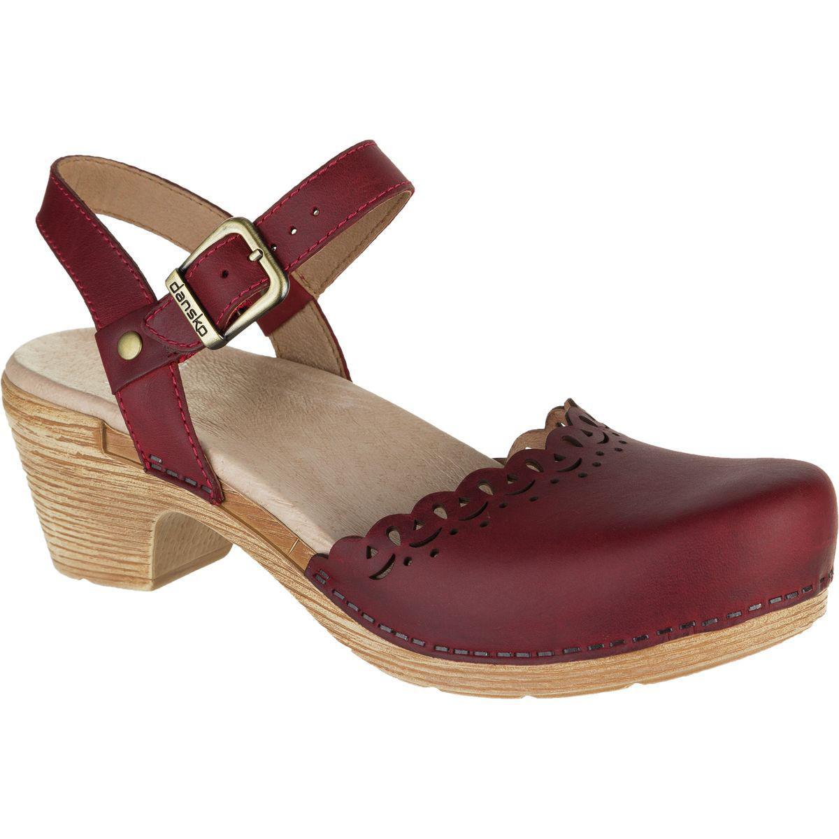 98a613062be Lyst - Dansko Marta Shoe in Red