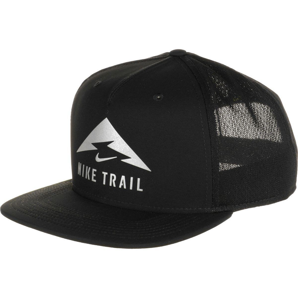 0e98a6a9f62 Lyst - Nike Aerobill Trail Cap in Black for Men
