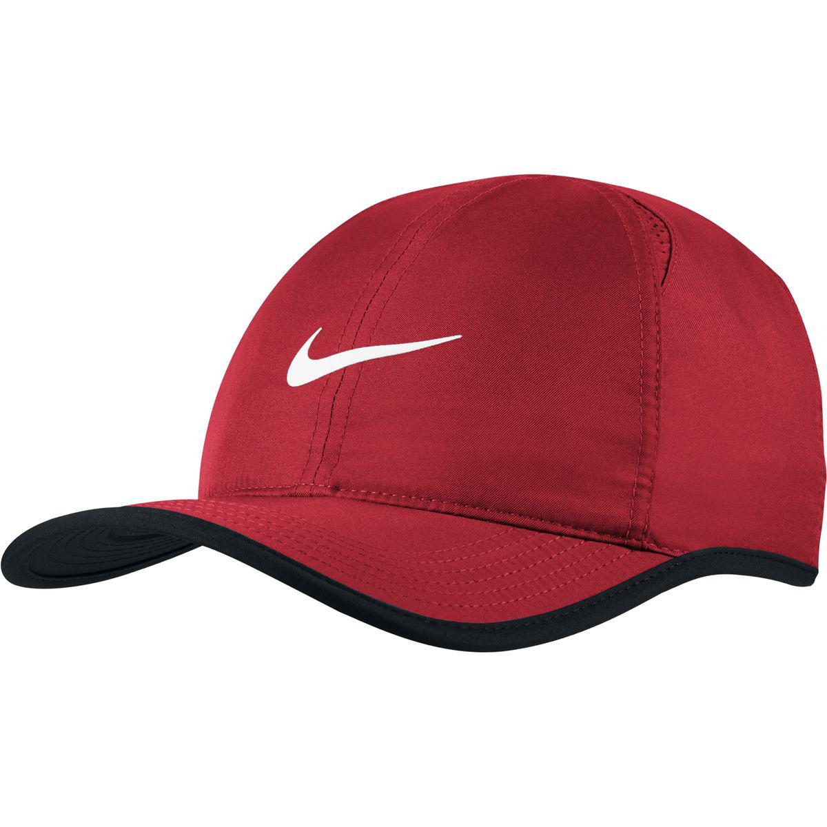 Lyst - Nike Aerobill Featherlight Running Hat in Red for Men 238a22c6ebf