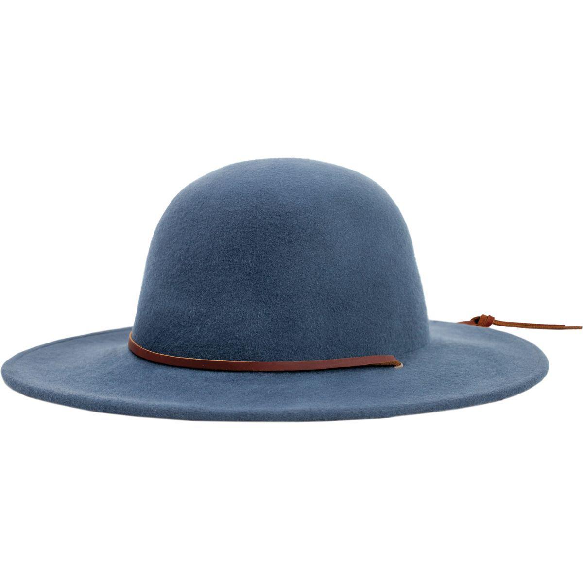 ... village hats. 69a39 81a68  spain lyst brixton tiller hat in blue 7ceec  47fe7 e6a4fd1d6c4f