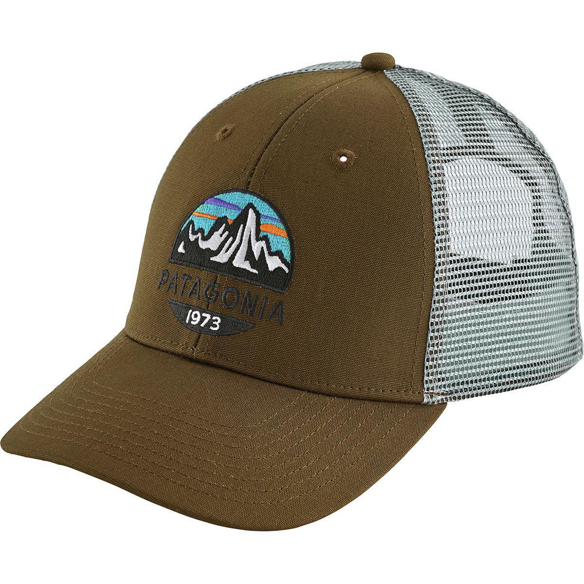 82b1120d43665 Lyst - Patagonia Fitz Roy Scope Lopro Trucker Hat in Green for Men