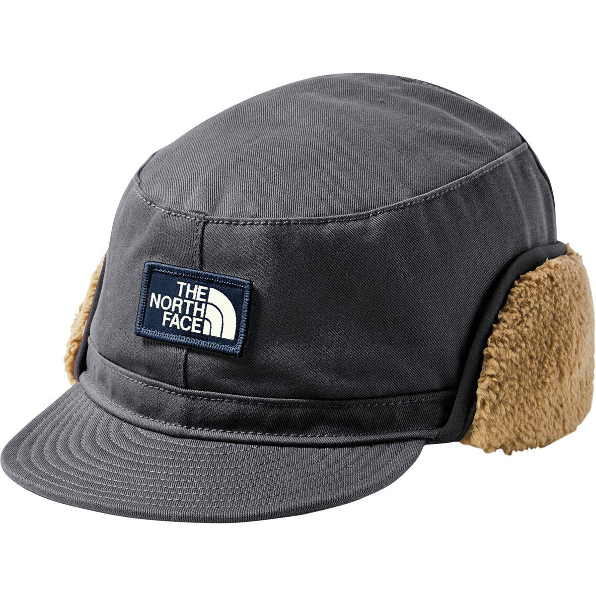 0f8a5f0fe0a Lyst - The North Face Campshire Earflap Cap in Black for Men