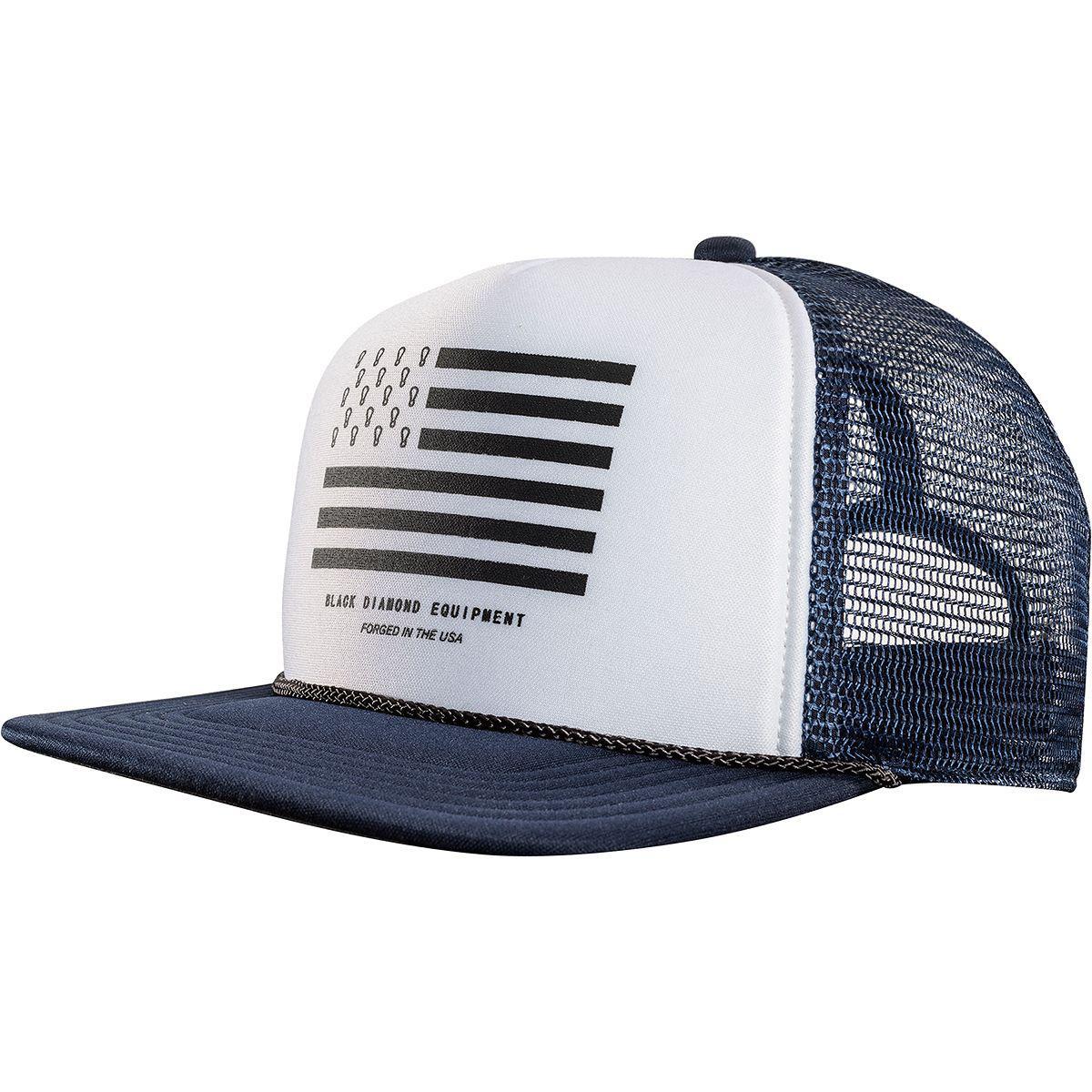 9ab1ec0e615 Black Diamond Flat Bill Trucker Hat for Men - Lyst
