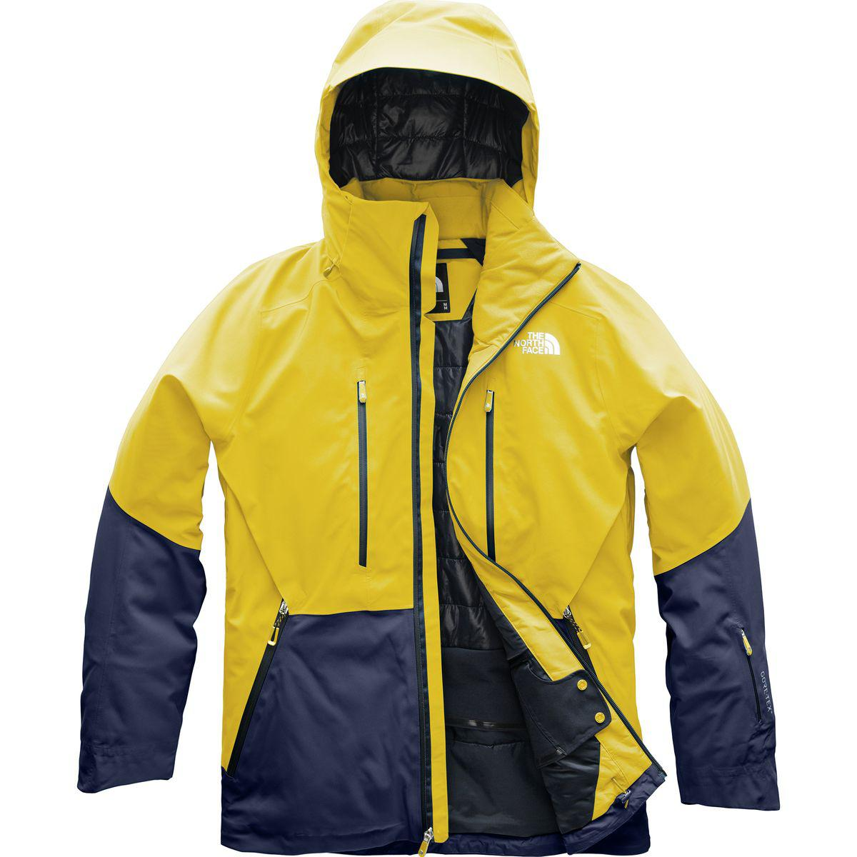 fa7fa110e1 Lyst - The North Face Anonym Hooded Jacket in Yellow for Men