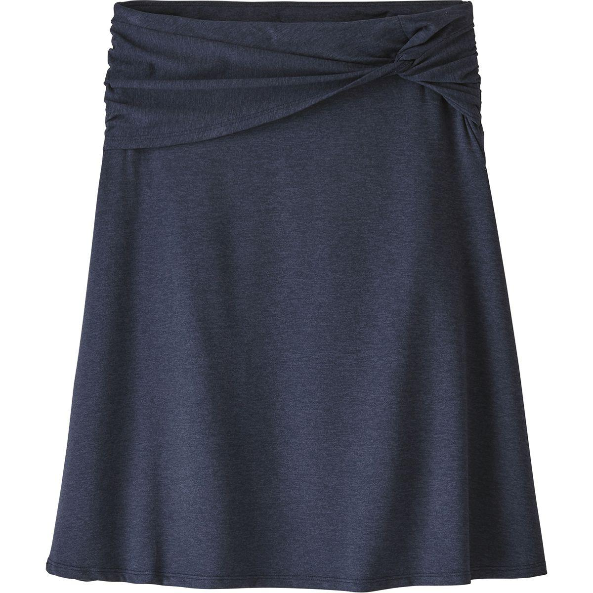 b0a71e41f Lyst - Patagonia Seabrook Skirt in Blue