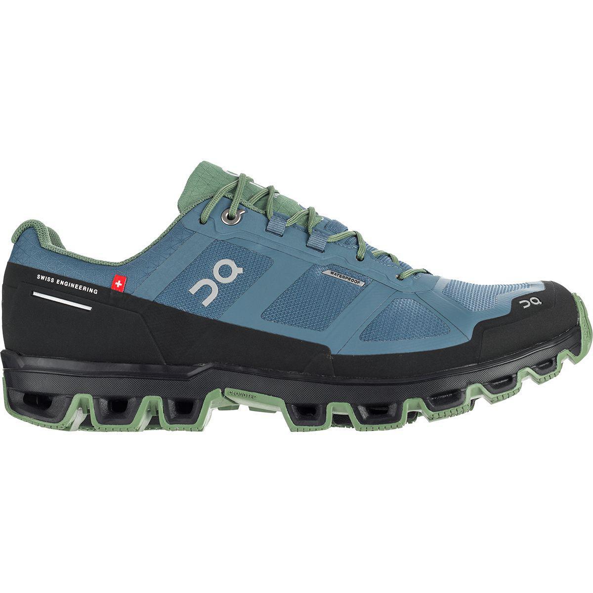 Lyst - On Footwear Cloudventure Waterproof Trail Run Shoe in Blue ... bdaa45398da