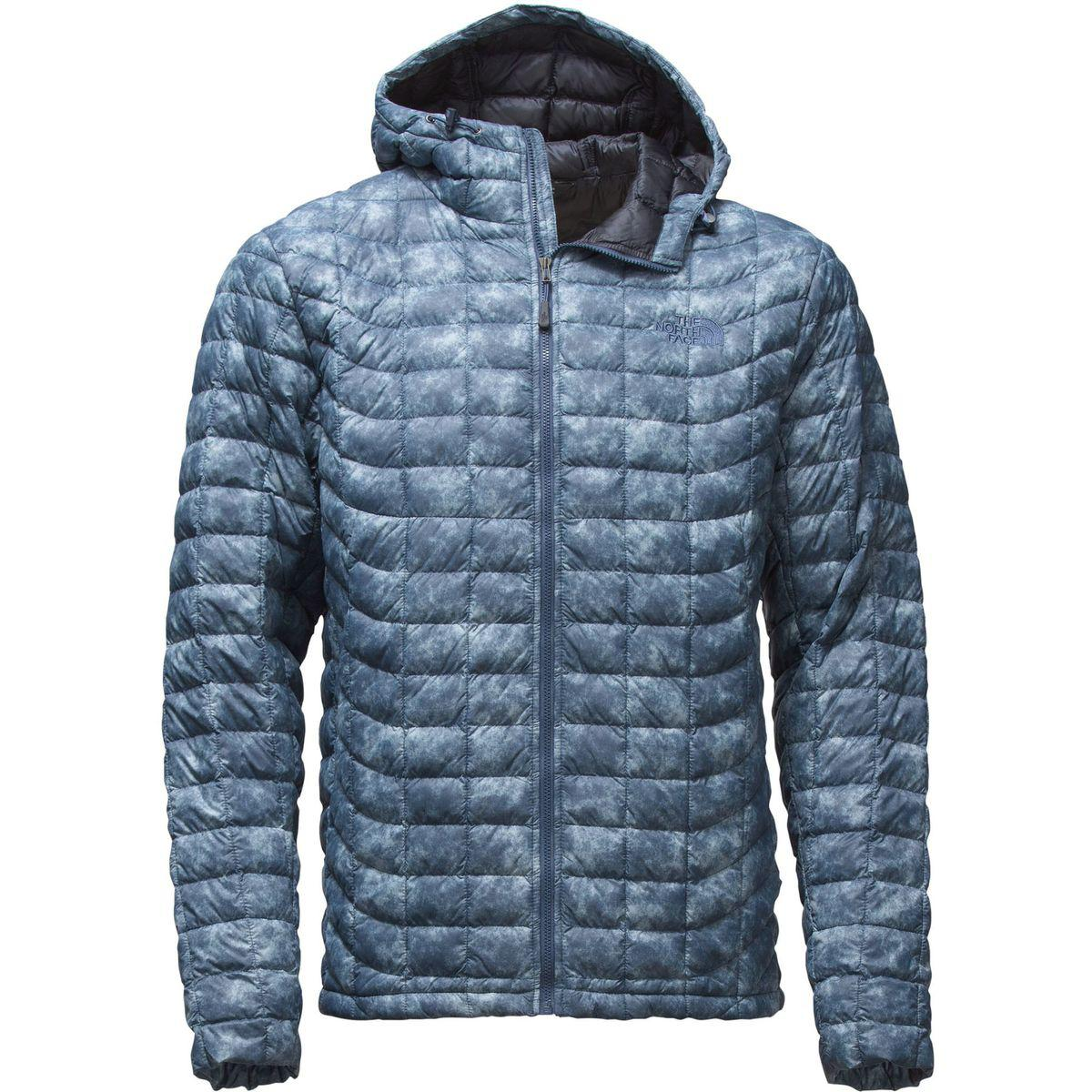 ac7ab558282c Lyst - The North Face Thermoball Hooded Insulated Jacket in Blue for Men