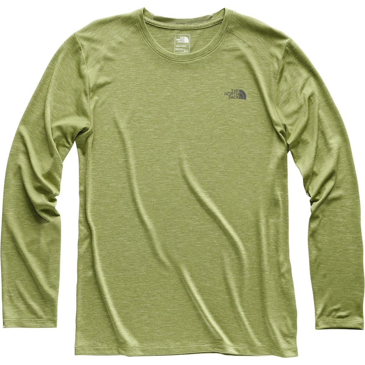 1d481fd32 Lyst - The North Face Hyperlayer Fd Long-sleeve Crew in Green for Men