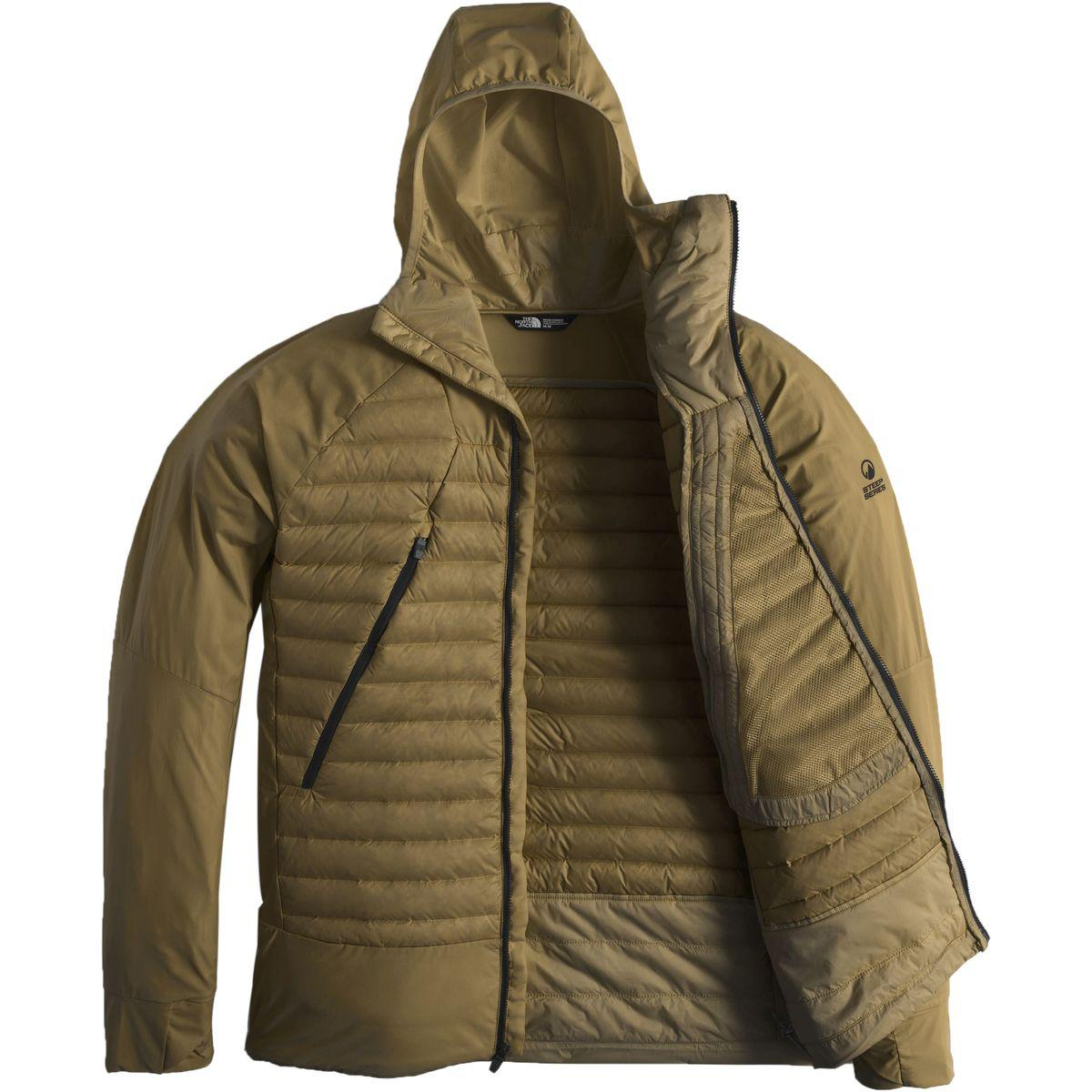 ... promo code for the north face green unlimited hooded down jacket for men  lyst. view 5bac4656f