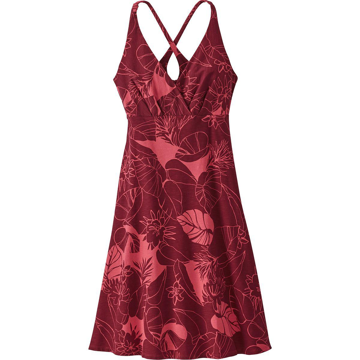 7e6c36ce7ce Lyst - Patagonia Amber Dawn Dress in Red