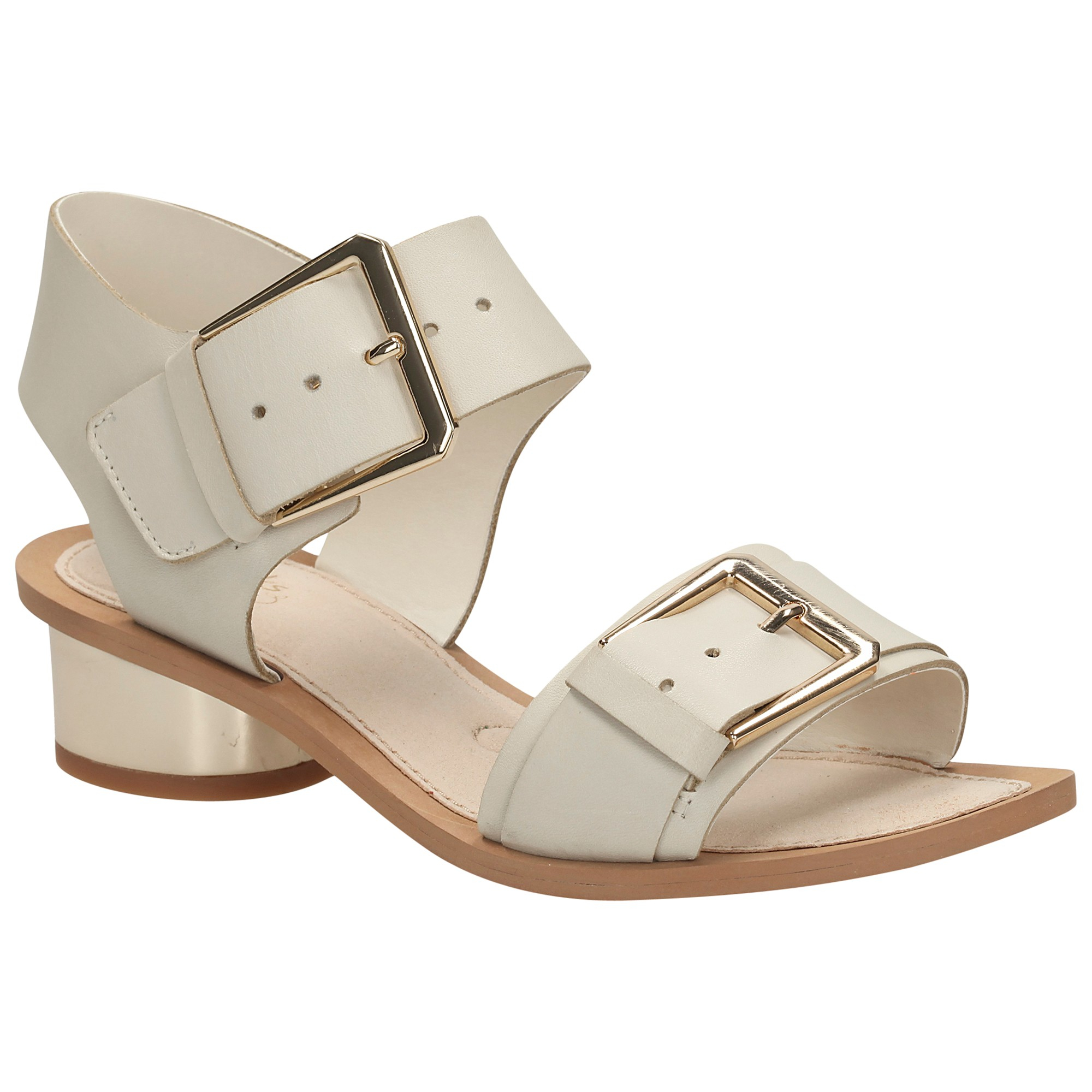 6faa4301f5d6a Clarks Sandcastle Art Leather Sandals in Brown - Lyst