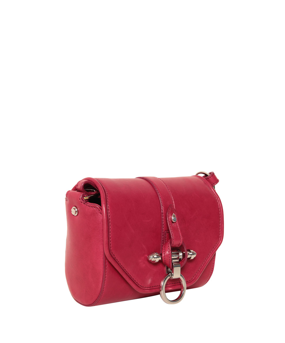 be372fc387 Lyst - Givenchy Obsedia Coney Leather Bag in Red