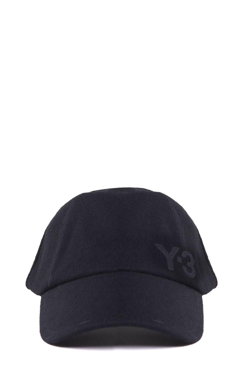 5fdaa1ab5 Lyst - Y-3 Logo-embroidered Wool Baseball Cap in Blue