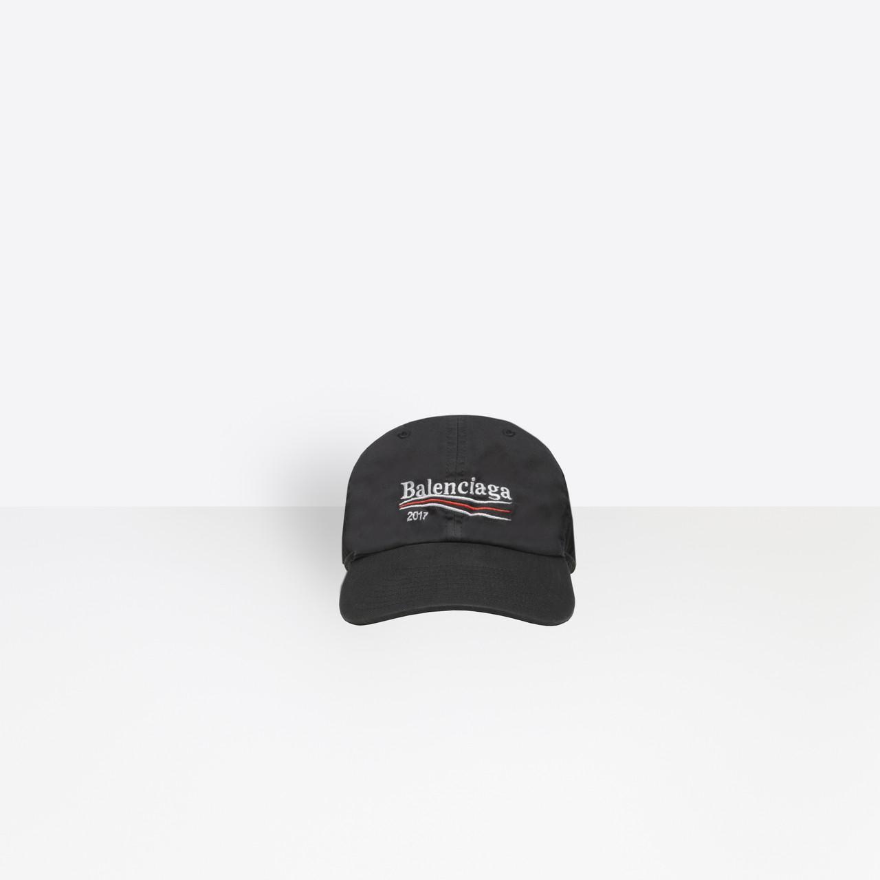 4931e9d0940cb Balenciaga - Black 2017 Cap for Men - Lyst. View fullscreen