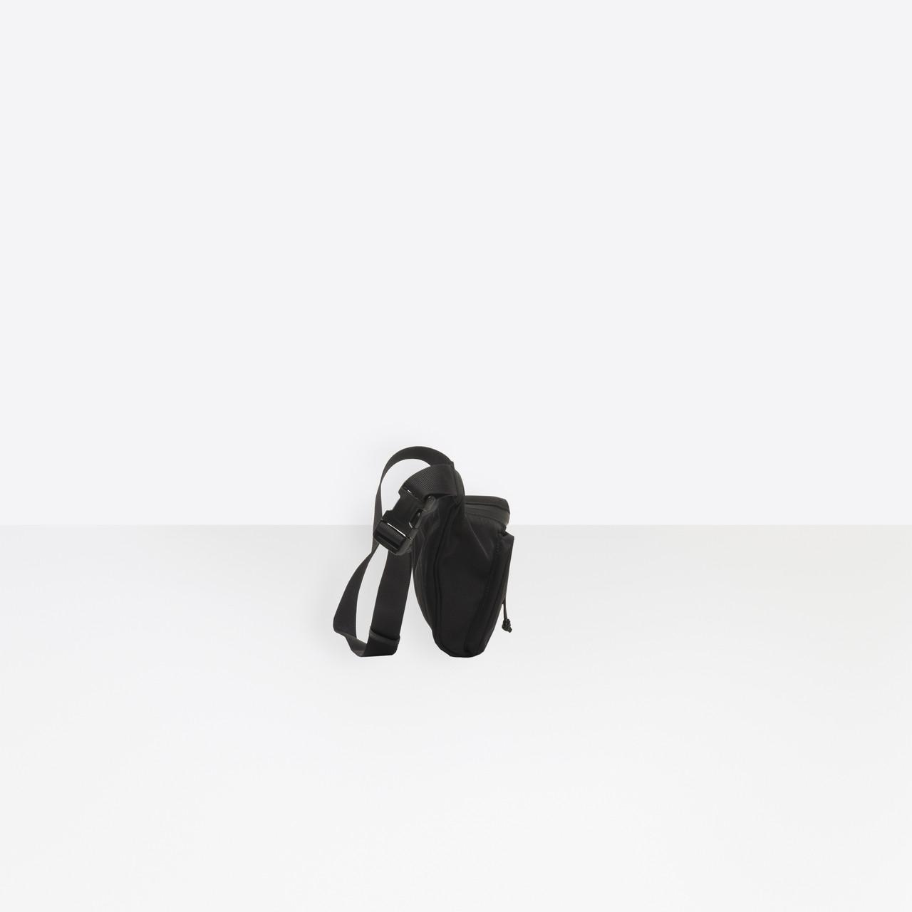 beebeaceee36d6 Balenciaga - Black Explorer Beltpack for Men - Lyst. View fullscreen