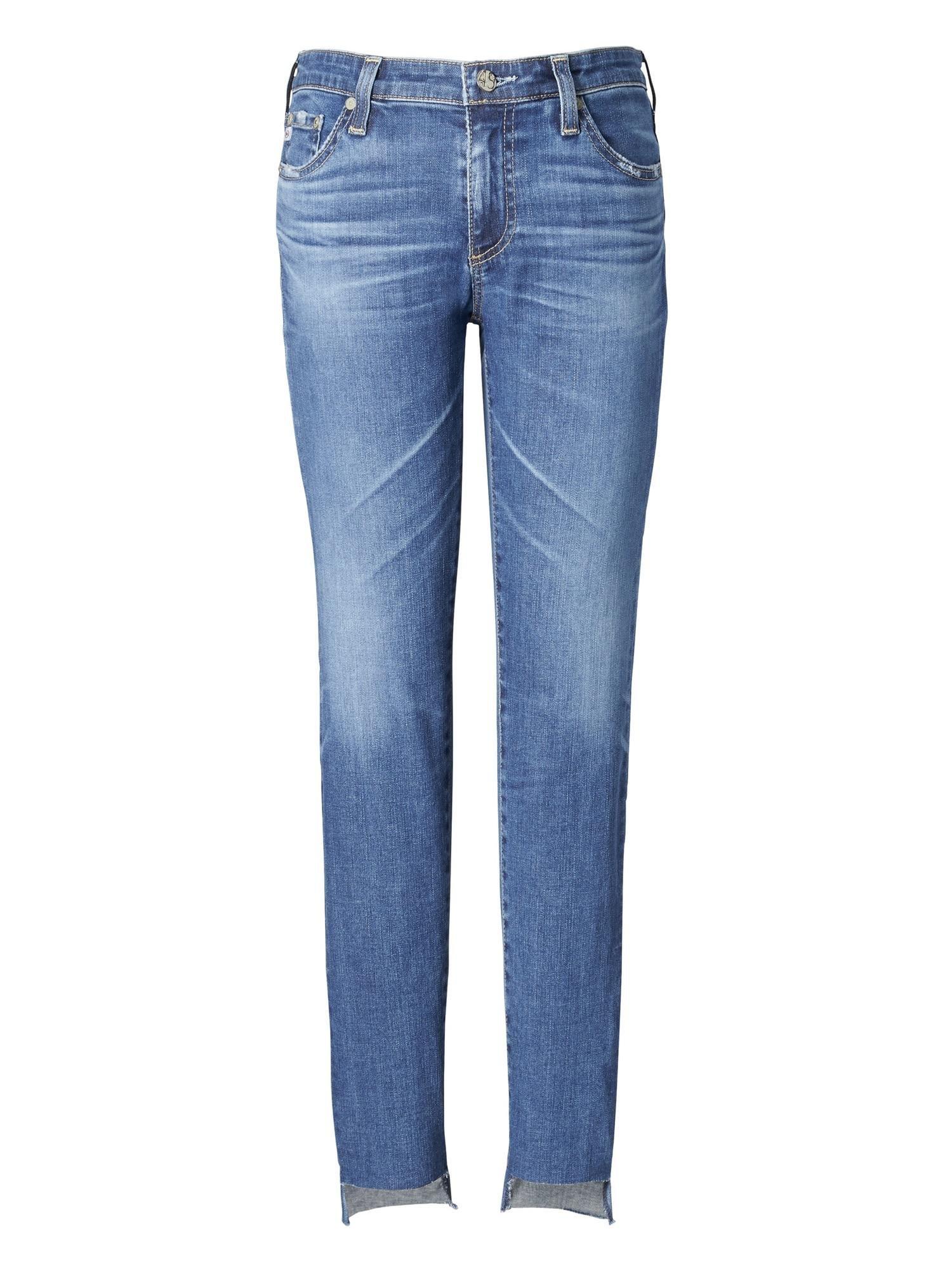 d071bf0e97512 Lyst - Banana Republic Ag Jeans | Legging Ankle Jean With Step-hem ...