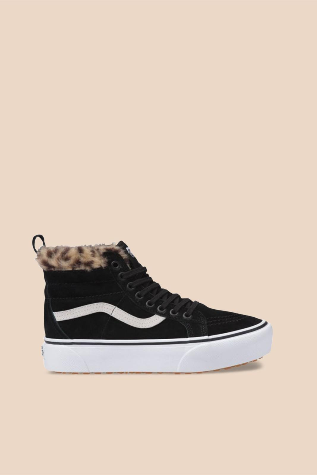 e757c2ab4d9 Lyst - Vans Sk8-hi Platform Mte Black Sneakers in Black - Save 6%
