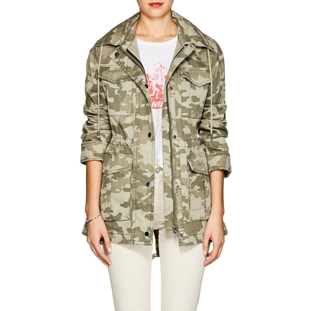 07e50cb1876a3 ATM Camouflage Cotton Field Jacket in Green - Lyst