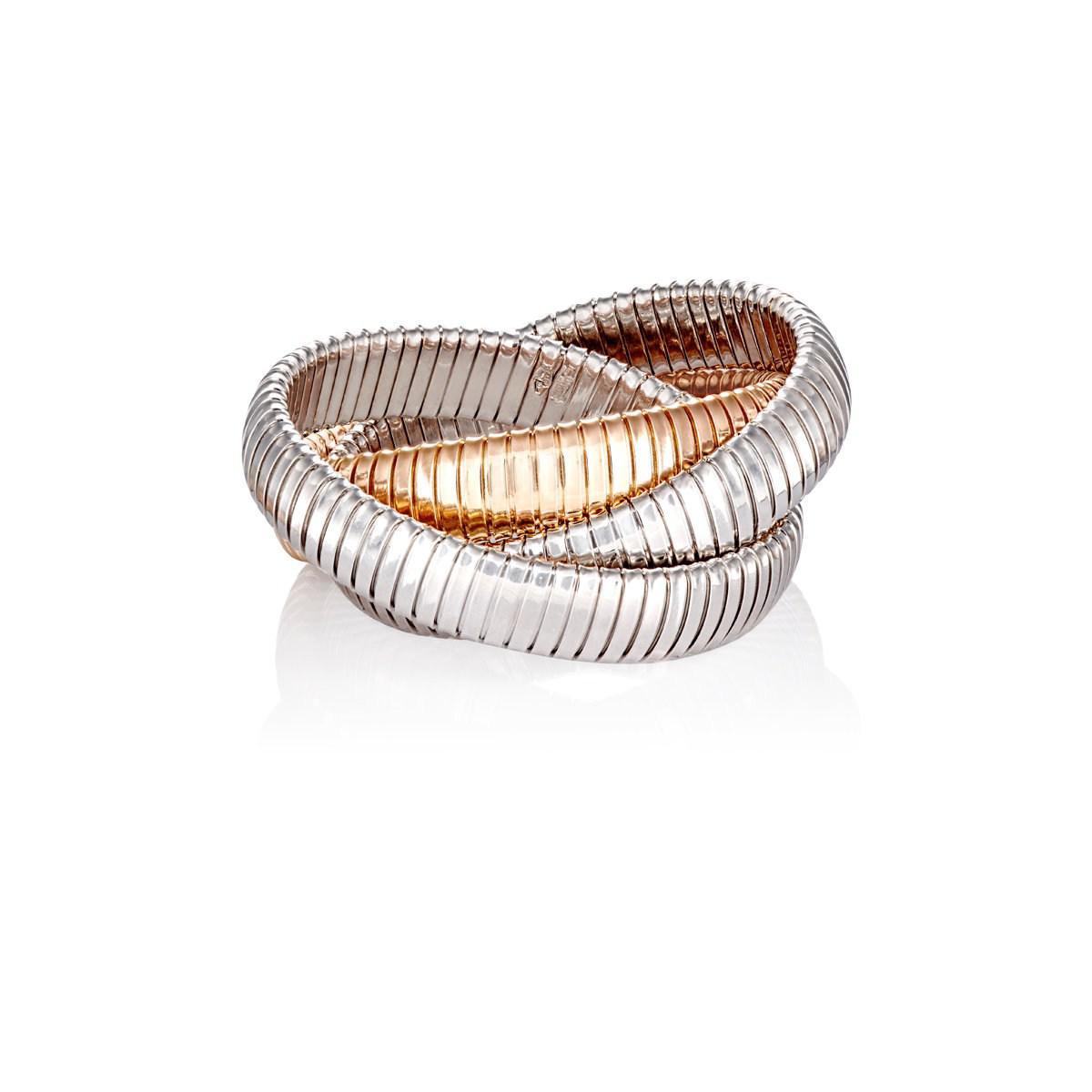 Sidney Garber Rolling Bracelet In Metallic Lyst