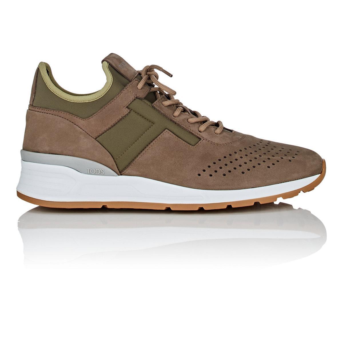 Mens Nubuck & Neoprene Sneakers Tod's QiXZFzZ