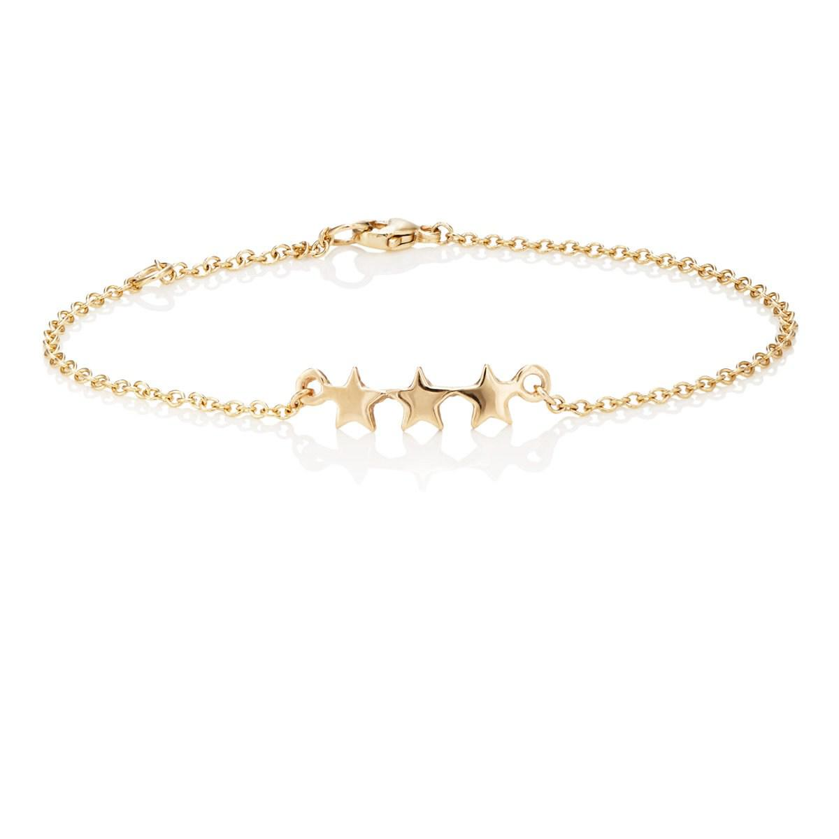 Womens Diamond Star ID bracelet Bianca Pratt