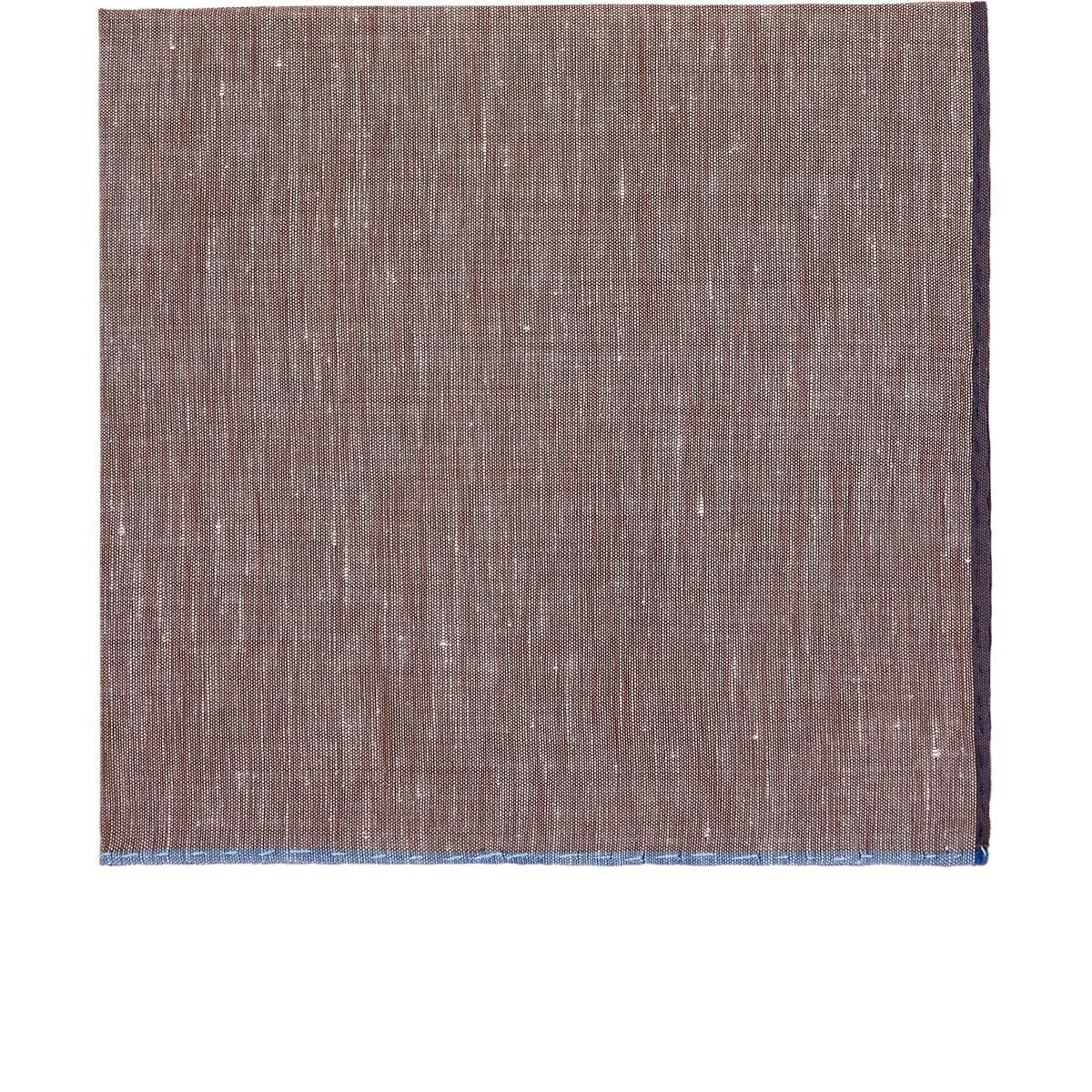 Mens Contrast-Edge Cotton-Linen Pocket Square Simonnot Godard 4BBWzwBs