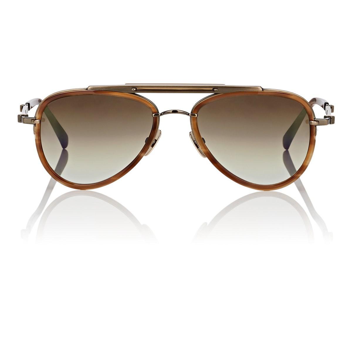 Laurel SL Aviator-Style Acetate And Metal Sunglasses Mr. Leight jAKGdp