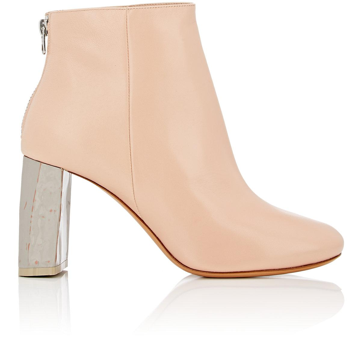 Rick Owens Pink & Grey Claudine Boots 0m6SQJd