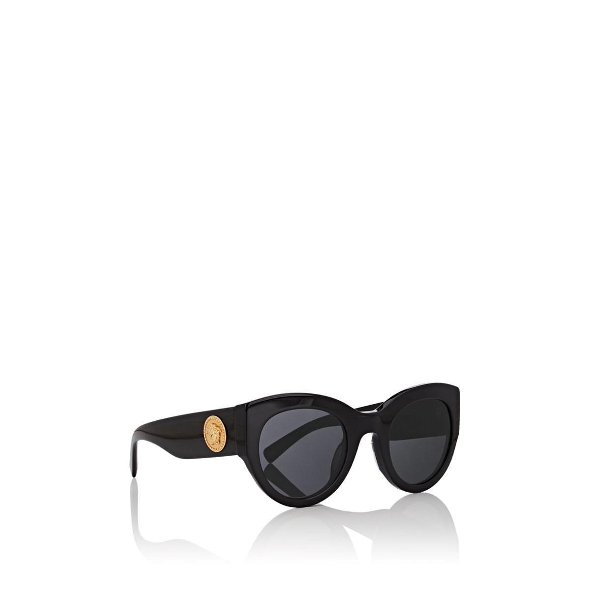 f694be784530 Versace - Black Tribute Sunglasses - Lyst. View fullscreen