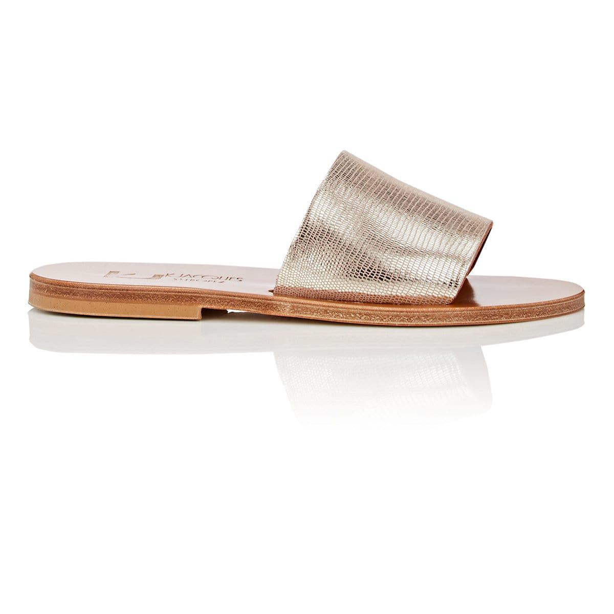 get to buy for sale outlet popular K JACQUES Monza Suede Slide Sandals free shipping authentic sale low shipping fee MmE1q
