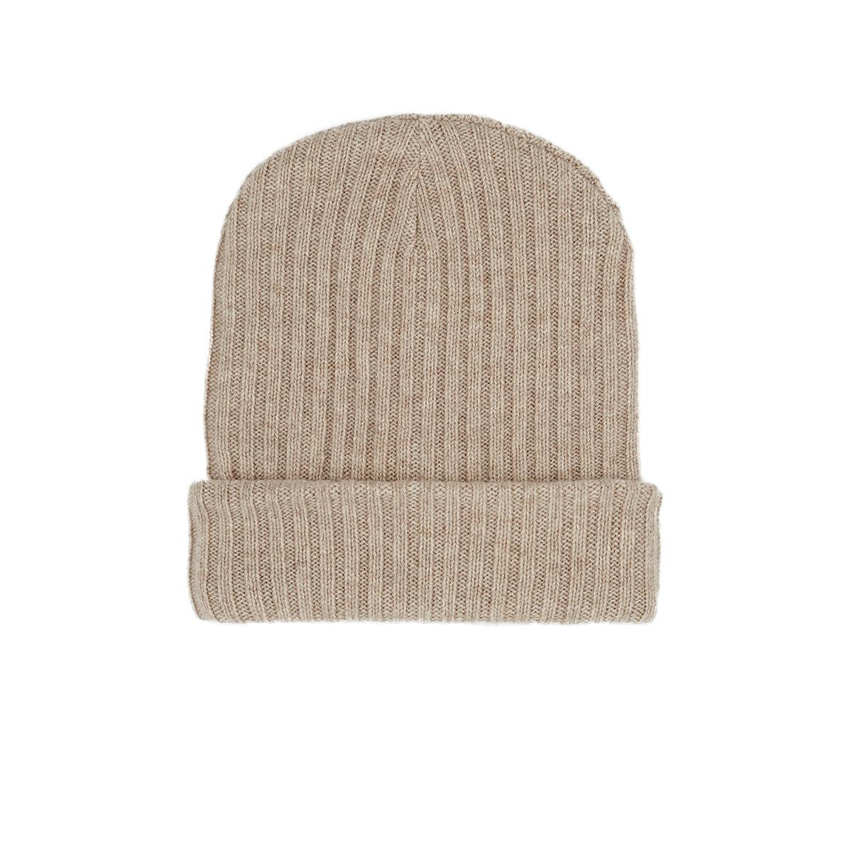158ee2eb259 The Elder Statesman Ribbed Cashmere Hat in Natural for Men - Lyst