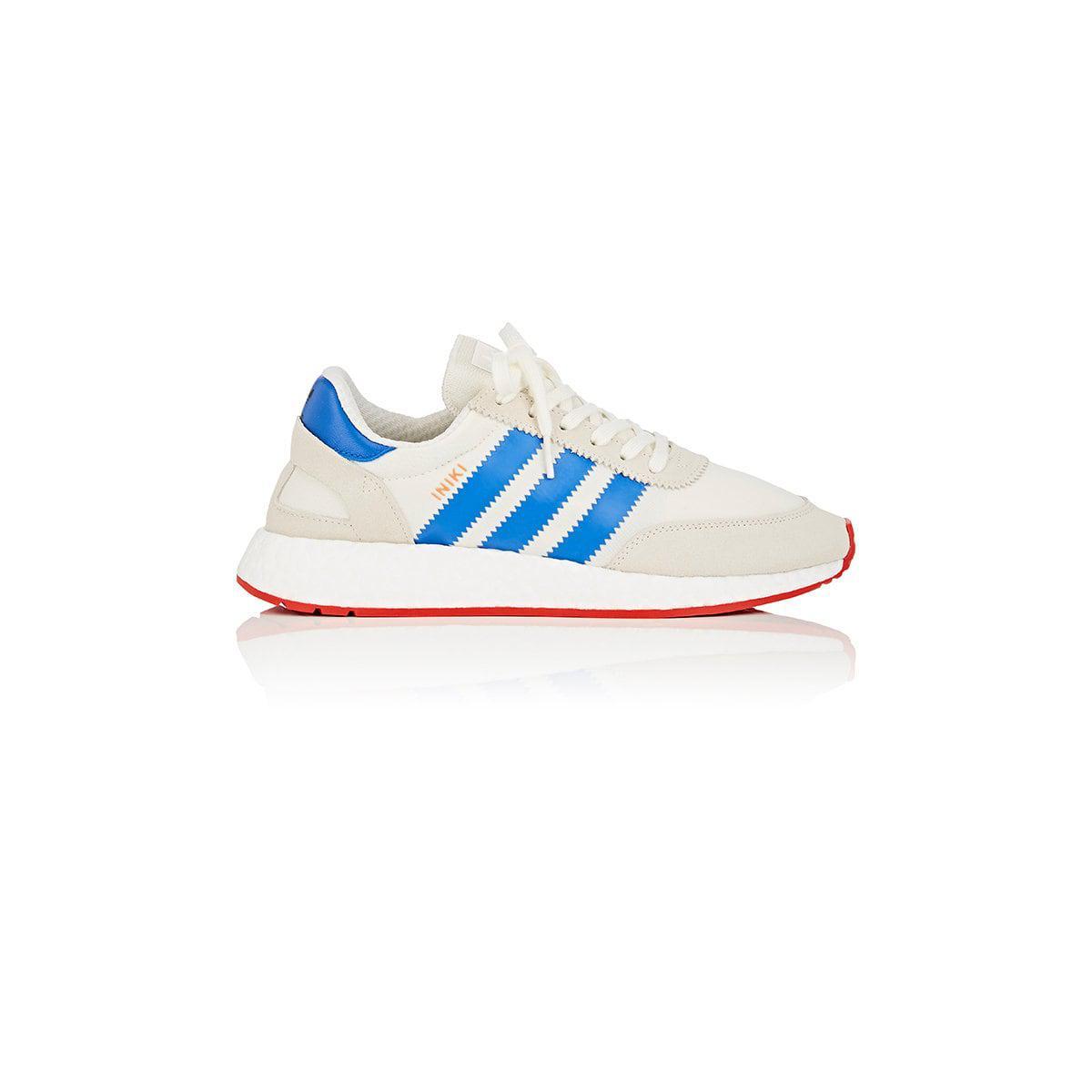 Lyst Adidas Iniki Runner Scarpe Blu Per Gli Uomini.
