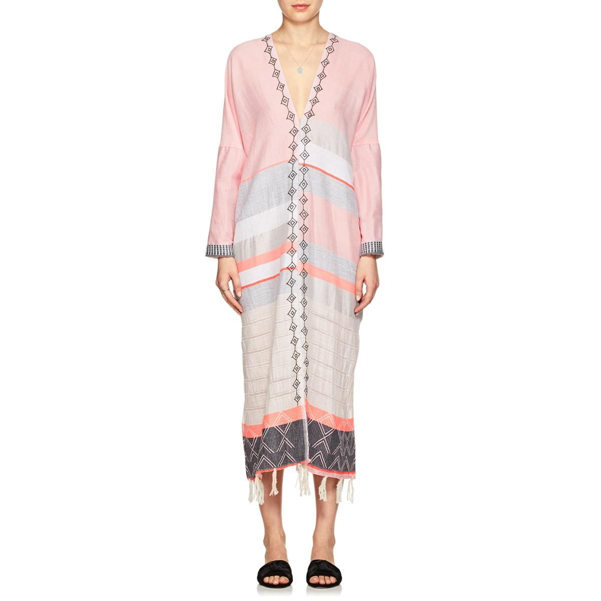 Largest Supplier Sale Online Sale Clearance Store Womens Tereza Striped Cotton Minidress Lemlem QVsGb