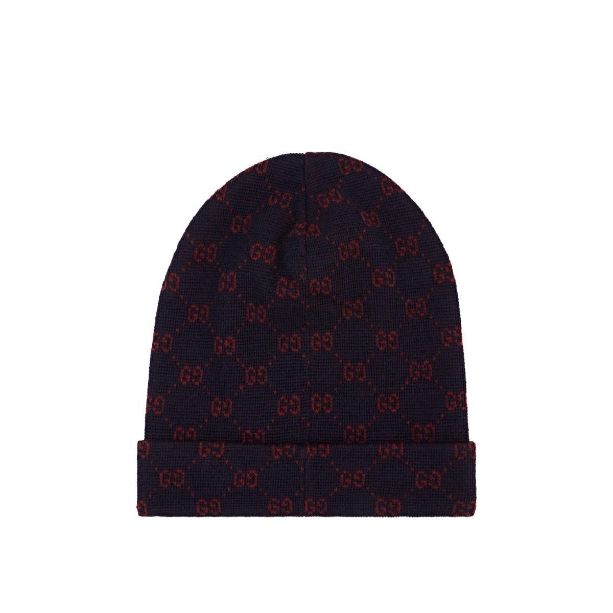Gucci - Blue Double-g Alpaca-wool Beanie for Men - Lyst. View fullscreen 01919e12ada0